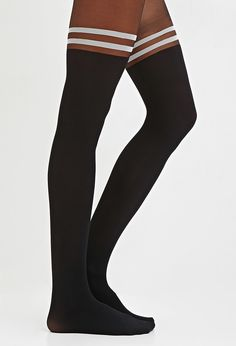 Forever21 Varsity-Striped Tights Found on my new favorite app Dote Shopping #DoteApp #Shopping