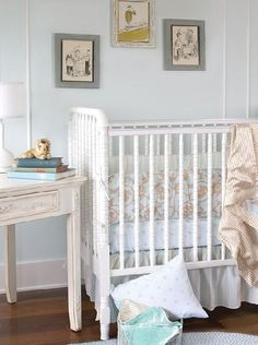 love shabby chic nursery