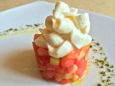 Tartare di pomodoro con maionese vegetale | Luana Cestari | Cucina naturale d'autore