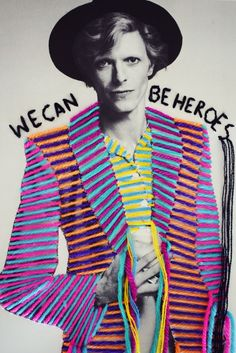 """This embroidery infused work by Mexican artist Victoria Villasana is amazing. You may recognize her name because Victoria was a prolific street artist in London for a decade. Known for """"her rebellious femininity and cross-cultural imagery Victoria, Mexican Textiles, Culture Pop, Nina Simone, Mexican Artists, A Level Art, Gcse Art, Arte Pop, Textile Artists"""