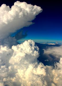 """""""Condescending Skies"""" ~ Aerial View of Clouds by Roberto Garcia on 500px."""