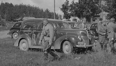 1939 ford sedan delivery used by Finnish Army
