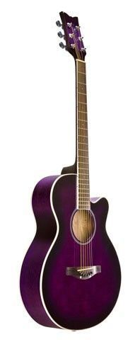 Aspiring Schecter Orleans Studio Acoustic Guitar In Satin See Thru Black Finish High Safety Acoustic Electric Guitars Guitars & Basses