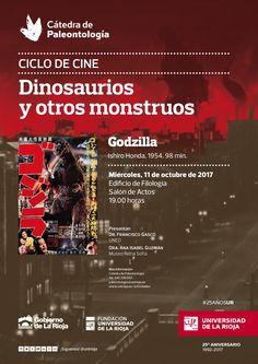 Cátedra de Paleontología - CINE Dinosaurios y otros monstruos Película: 'Godzilla'