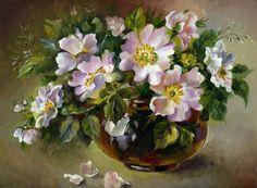 dzika róża Irina Vyzhanova