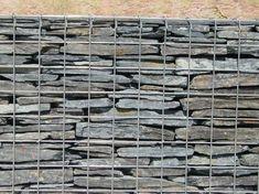 Clôture en gabions / schiste