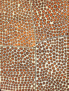 Takariya Napaltjarri--love the design and the colors in this piece.