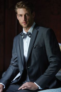 Graphite Grey Tuxedo by Madison James : Formal Dimensions Grey Tuxedo, Tuxedo For Men, Beautiful Men Faces, Gorgeous Men, Heath Hutchins, Navy Tuxedos, Business Portrait, Business Outfit, Well Dressed Men