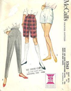 Schnittmuster McCalls 5263 / Vintage 50er Jahre von studioGpatterns