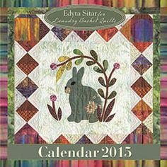 Laundry Basket Quilts Calendar 2015