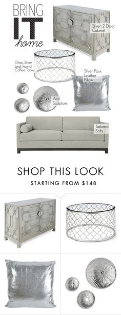 """""""Home Decor"""" by kathykuohome ❤ liked on Polyvore featuring interior, interiors, interior design, home, home decor, interior decorating, Silver, Home, gray and homedecor"""