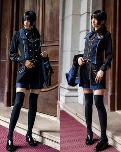 LolitaWardtobe - Bring You the latest Lolita dresses, coats, shoes, bags etc from Trustworthy Taobao indie Brands. We never resell Lolita items from untrustworthy Taobao stores. Cute Fashion, Fashion Art, Fashion Outfits, Fashion Design, Harajuku Fashion, Lolita Fashion, Mode Mori, Mode Alternative, Lolita Mode