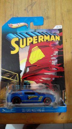 Hot Wheels Superman series Mustang
