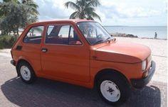 1980 Fiatl Polski 126 .  I want this!!  Only 4k... in FL