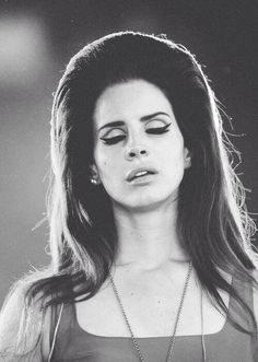 Her hair and makeup is amazing, costume idea? As Lana Del Rey