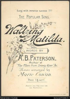 Learn about Waltzing Matilda and our Australian slang, songs, food and things that makes us unique. Australian greeting cards and games. Australian Slang, Australian Icons, Man From Snowy River, Song Words, Anzac Day, Australia Day, Matilda, Country Music, Growing Up