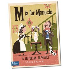 Discover the alphabet through iconic aspects of life in the Victorian Era: witness two people experience Electricity for the first time. See the thrills of Fencing in action. Breath in the beauty of an old English Garden and then take a trip the unexplored jungle with a Helmet on your head.