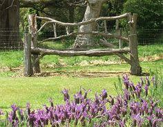 Rustic Garden Benches