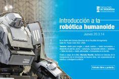 INTRODUCCIÓN A LA ROBÓTICA HUMANOIDE.   Hacé tu consulta a un representante de #FIUBA: http://quevasaestudiar.com/estudiar-en-Universidad-de-Buenos-Aires-32-4