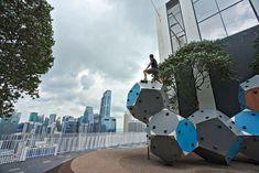 On peut même y grimper Opera House, Building, Travel, Singapore, Asia, Viajes, Buildings, Destinations, Traveling