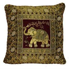New Elephant Design Cushion Covers Victorian Vintage Unique Designed Cover