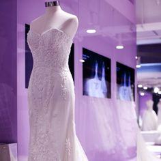 Provide rental service on designer wedding dresses, evening gowns