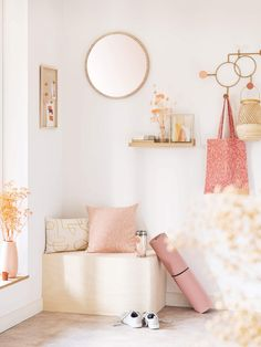 Discover the Soft Mood interior design trend at Maisons du Monde, and stock up on ideas for your home. So Girly Blog, Greige, Zara Home, Bedroom Inspo, Decoration, Mood, Design Trends, Fancy, Interior Design