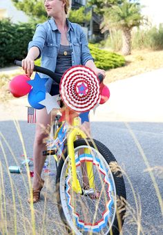 Fourth of July Decorated Bikes #SummerUp | Say Yes to Hoboken