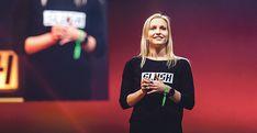 Slushin toimitusjohtaja Marianne Vikkula asettaa tavoitteensa korkealle ja korostaa yhdessä tekemisen voimaa.