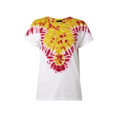 #Diesel #Damen #T-Shirt mit #Batikmuster - Damen T-Shirt von Diesel, Reine…