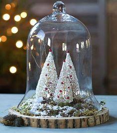 Naučte se vyrábět vánoční borovice recyklací kartáčů ~ lodijoella