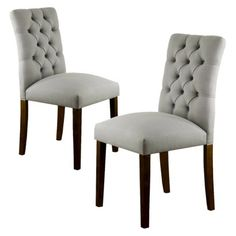 Awesome Threshold™ Brookline Tufted Dining Chair   Set Of 2. Also Available In Light  Blue