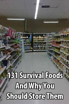 The Internet is littered with lists of food and supplies, but this isn't just another list of survival foods--it's also a guide. WEDNESDAY, DECEMBER 9, 2015 4:43 AM EST