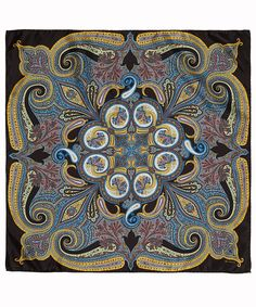 Paisley print silk scarf from Etro. Shop now at http://www.liberty.co.uk/fcp/categorylist/designer/etro #DesignerScarves