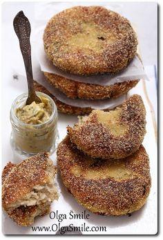 Chops with cauliflower Olga Smile Polish Recipes, Fritters, Vegan Gluten Free, Main Dishes, Breakfast Recipes, Vegan Recipes, Good Food, Food And Drink, Tasty