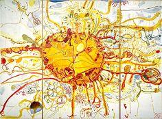 John Olsen, one of my favourite Australian artists John Olsen Sydney Sun [or King Sun] National Gallery of Australia © John Olsen Insect Art, Art Courses, Indigenous Art, Artist Life, Australian Artists, Science Art, Art Design, Cool Art, Contemporary Art