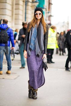Street Style at London Fashion Week Fall 2012 - - Elle