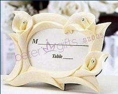 beterwedding favores no atacado sz005 marfim calla lily cartão lugar frame presente de casamento, lembrança de casamento     http://pt.aliexpress.com/store/product/60pcs-Black-Damask-Flourish-Turquoise-Tapestry-Favor-Boxes-BETER-TH013-http-shop72795737-taobao-com/926099_1226860165.html   #presentesdecasamento#festa #presentesdopartido #amor #caixadedoces     #noiva #damasdehonra #presentenupcial #Casamento