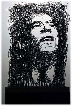 Wire sculpture by Michael Murphy