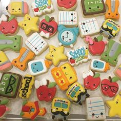 I'll be posting back to school options tomorrow! Cookie cutters by…