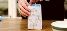 How to Recycle old envelopes into bags for small gifts « Papercraft