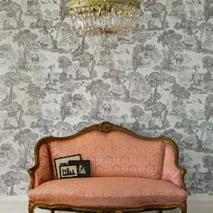 Wallpaper - Cole & Son - Folie - Versailles - Paint & Paper Ltd