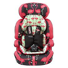 Buy Cosatto Zoomi 5 Point Plus Group 1, 2 & 3 Car Seat, Flamingo Fling Online at johnlewis.com