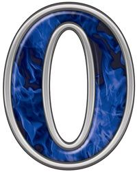 Reflective Number 0 with Inferno Blue Flames :: Inferno Blue Reflective Vinyl Lettering and Numbering :: Letters and Numbers :: Weston Signs Inc. Azul Indigo, Printable Numbers, Thing 1, Blue Flames, Vinyl Lettering, 4 H, Letters And Numbers, Bumper Stickers, Cute Pictures