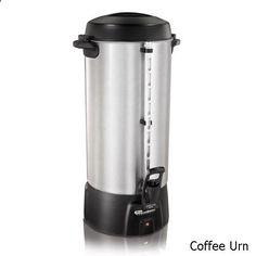 Coffee Urn - Proctor Silex 45100 100 Cup Brushed Aluminum Coffee Urn