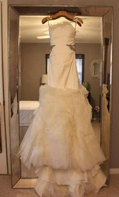 #wedding #mybigday  Vera Wang Kathleen 4: buy this dress for a fraction of the salon price on PreOwnedWeddingDresses.com