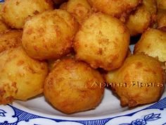 Шарики картофельно-сырные