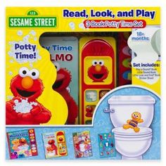 Potty time Elmo's book for potty training toddlers  Affiliate