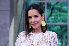 Guy Ecker, Mexican Actress, Girlfriends, Crochet Earrings, Actresses, Drop Earrings, People, Fashion, Relationships Love