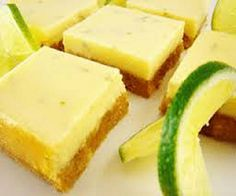 Weight Watchers Friendly Lime Bars